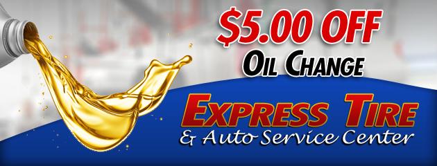 $5 Off Oil Change