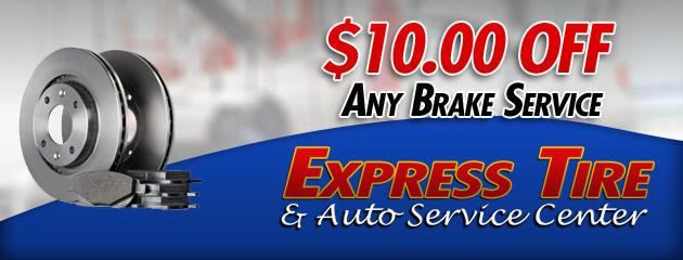 $10 Off Any Brake Service