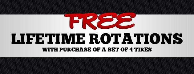 Free Lifetime Rotations