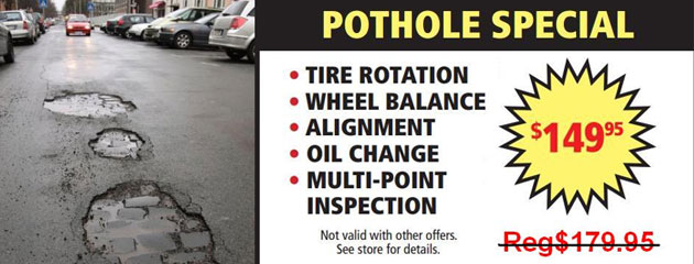Pothole Special