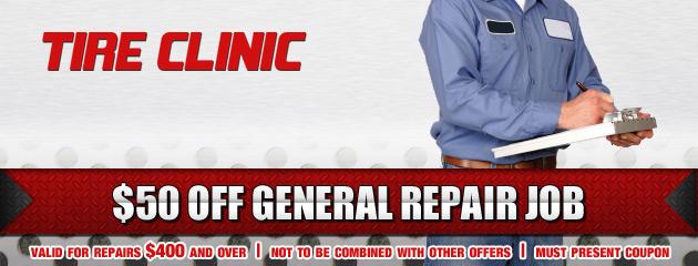 Tire Clinic Repair Job