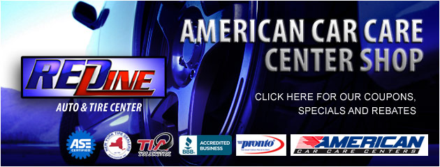 Redline Auto and Tire Center Savings