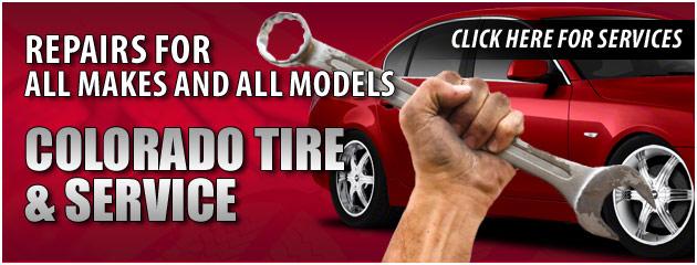 Colorado Tire & Service Savings