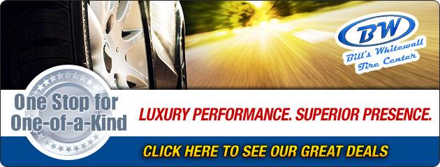 Bills Whitewall Tire Center Savings