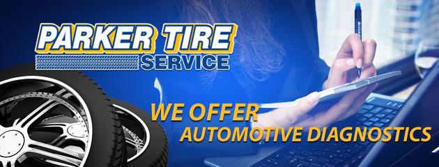 Parker Tire Service Auto Diagnostics