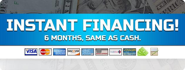 Instant Financing