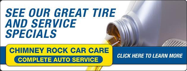 Chimney Rock Car Care Savings