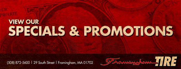 Framingham Tire & Auto Repair Savings