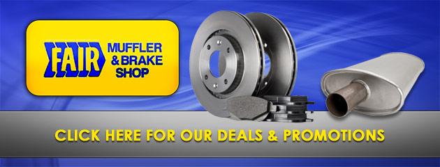 Fair Muffler & Brake Shop Savings