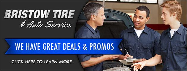 Bristow Tire & Auto Service Savings