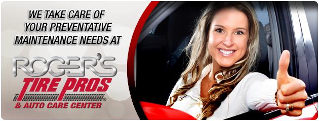 Rogers Tire Pros & Auto Care Center Preventative Maintenance