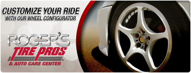 Customize your Ride with our Wheel Configurator