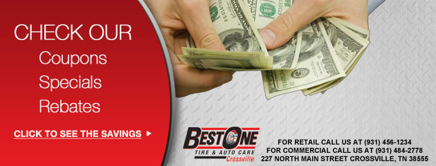 Best One Tire & Service of Crossville Savings