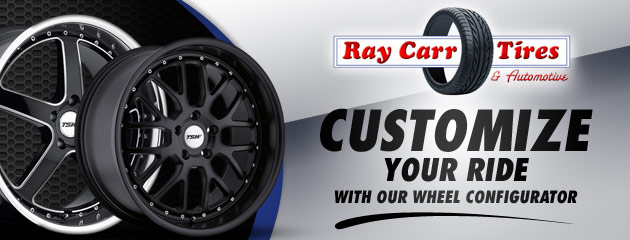 Ray Carr Tires Customize Your Ride