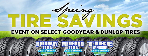 Highway Tire & Auto Service Spring Tire Savings