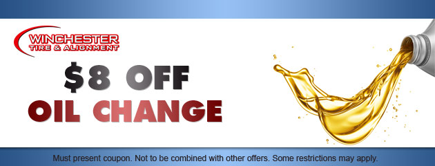 $8 OFF oil change