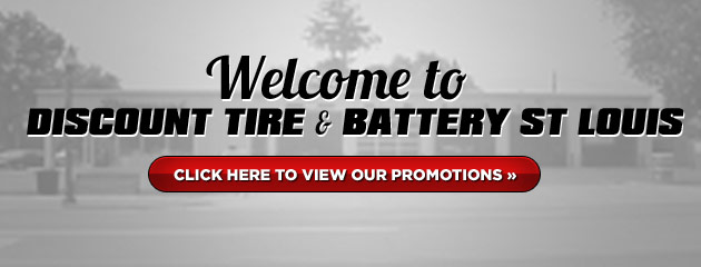 Discount Tire & Battery St Louis Savings