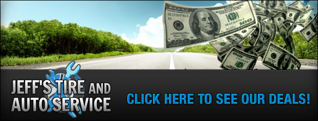 Jeffs Tire and Auto Service Savings