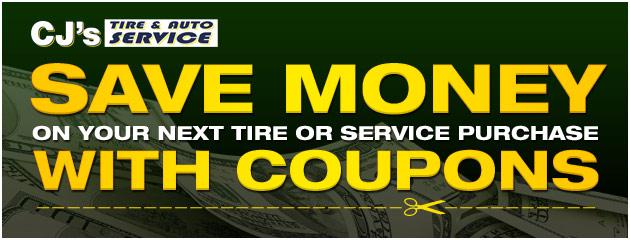 CJs Tire & Auto Service Savings