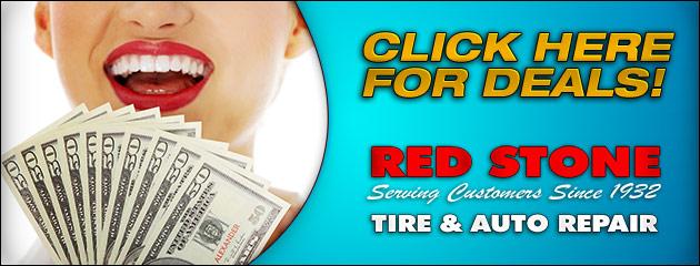 Red Stone Tire Savings