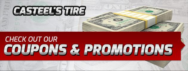 Casteels Tire Savings