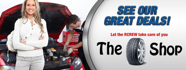 The Tire Shop Savings