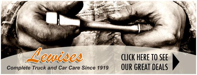 Lewis General Tires Savings