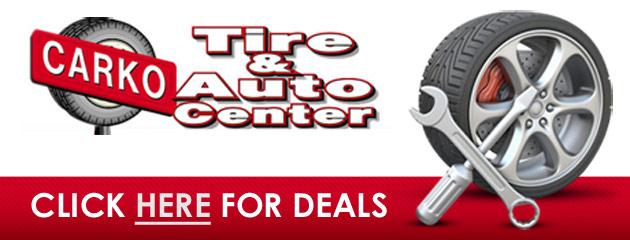 Carko Tire & Auto Center Savings
