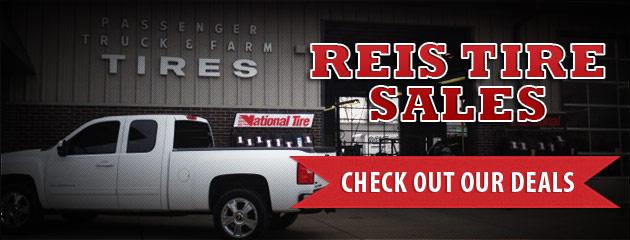 Reis Tire Sales Savings