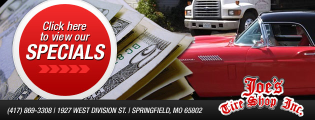 Joes Tire Shop Inc Savings