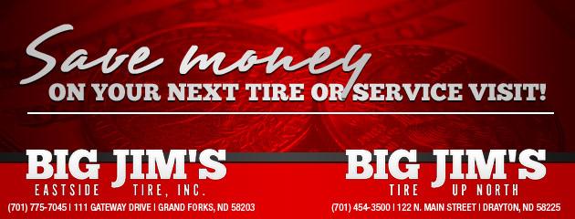 Big Jims Tire Savings