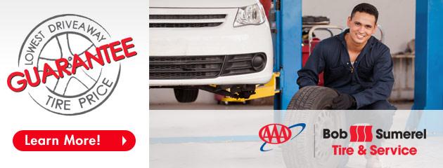 Bob Sumerel Tire & Service Guarantee