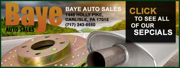Baye Auto Sales Savings