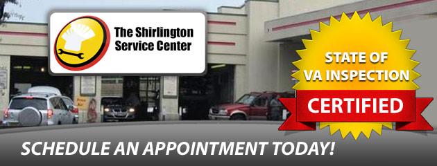 Shirlington Service Center Schedule Appt