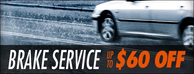 Brake Service Savings