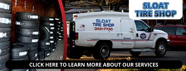 Sloat Tire Shop Savings