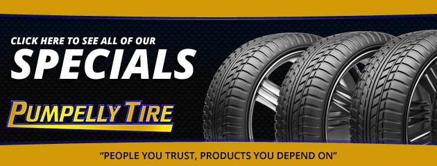 Pumpelly Tire Savings