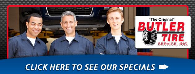 Butler Tire Service Savings