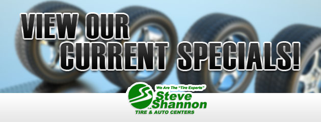 Steve Shannon Tire & Auto Center Savings