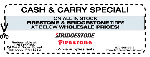 Cash and Carry Special!