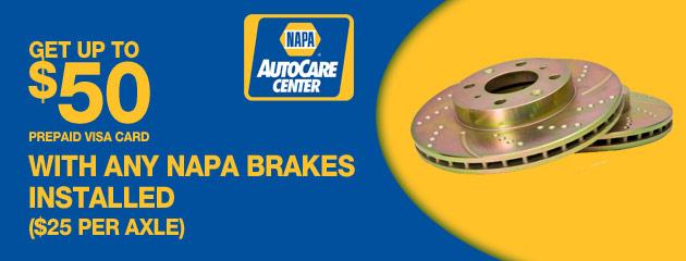 Napa Brake Deal