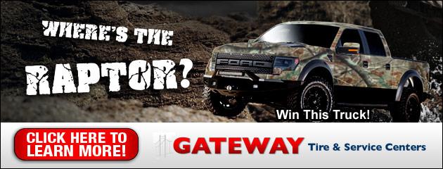 Gateway Tire Wheres the Raptor