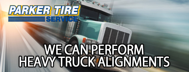 Parker Tire Service Heavy Truck Alignments