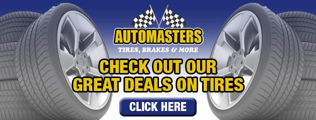 Auto Masters Tire Savings