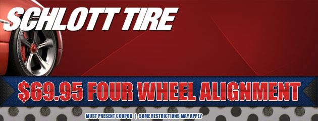 Four Wheel Alignment special $69.95