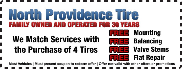 Free with 4 New Tires!