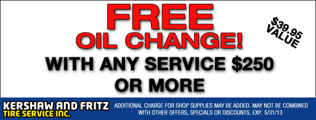 Free Oil Change