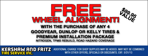 Free Wheel Alignment