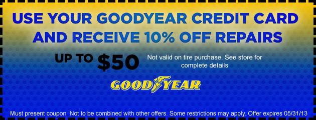 Goodyear Credit Card Savings