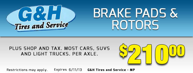 Brake Pads & Rotors
